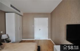 小户型卧室电视机背景墙设计效果图