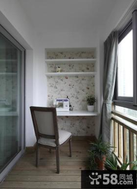 田园设计室内阳台效果图