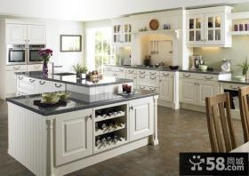 时尚别墅整体厨房装修设计