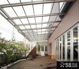 复式楼大阳台装修效果图