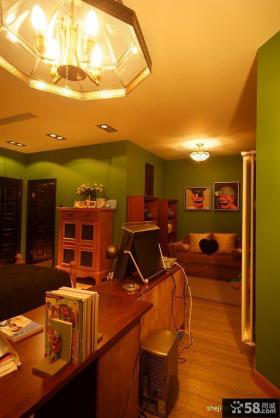 小复式楼装修效果图 复式楼书房装修样板间