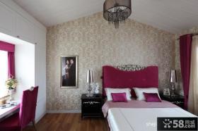 小复式楼装修效果图婚房卧室装修效果图