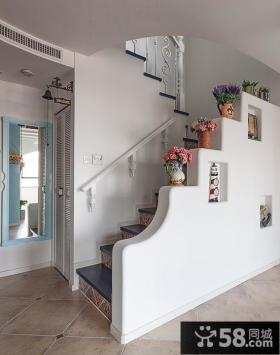 楼梯隔断墙装修效果图