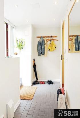 家庭装修进门玄关效果图片欣赏