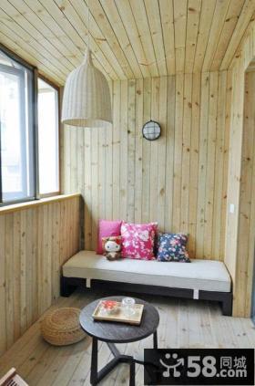 家庭装修榻榻米小阳台