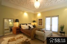 14万打造豪华欧式风格复式卧室吊顶装修效果图