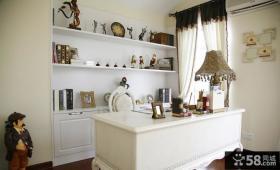 欧式风格私人小别墅书房装修图片欣赏