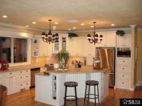 欧式小户型开放式厨房设计