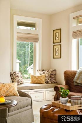 客厅飘窗装修效果图大全