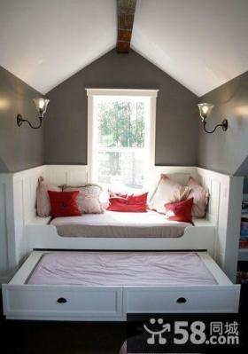 小户型卧室阁楼设计