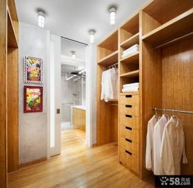 高端白橡木衣柜图片