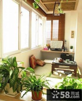 阳台榻榻米装饰图片