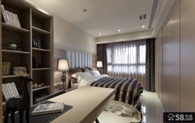 现代卧室房间设计装修效果图片