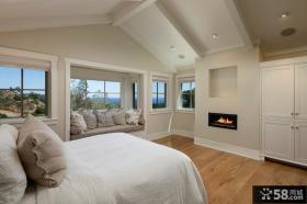 美式乡村风格卧室装修设计图片