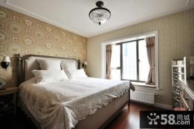 美式新古典风格卧室图片大全