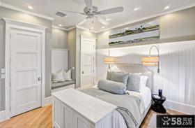 欧式小卧室门装修效果图