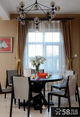 中式风格别墅餐厅装修效果图欣赏