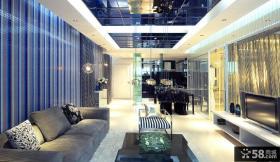 现代客厅集成吊顶装修