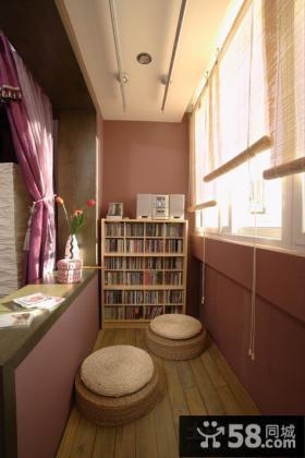 阳台书房装修效果图欣赏