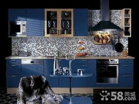地中海风格整体厨房装修效果图