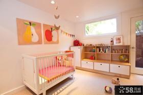 现代简约婴儿房间装修图片