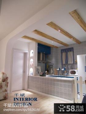 地中海风格厨房装修设计图片
