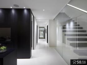 现代风格两室两厅楼梯装修效果图