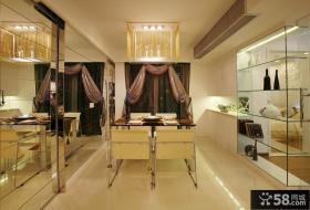 时尚现代家居餐厅装修设计效果图