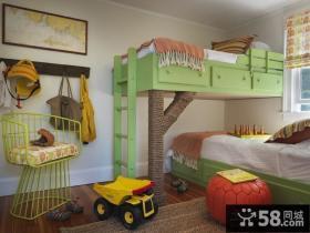 家装简约风格 儿童房图片