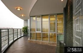 2013优质客厅阳台装修效果图片
