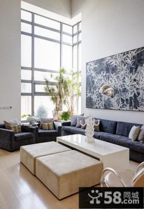 80平米小户型简约客厅设计图