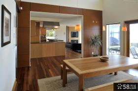 室内现代简约风格餐厅吊顶效果图