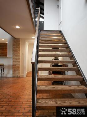 别墅室内楼梯设计效果图大全