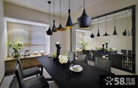 现代风格家用餐厅吊顶灯图片