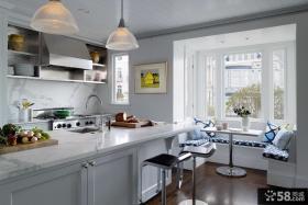 混搭风格设计厨房飘窗效果图