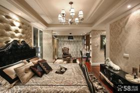 欧式新古典设计装修卧室图片