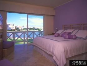 美式风格温馨卧室装修效果图 主卧室装修效果图