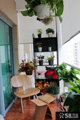 家庭阳台室内花架图片大全