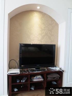 家装电视背景墙壁纸图片
