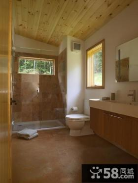 50平小户型轻松打造欧式家庭厕所效果图