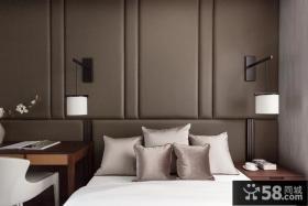 日式现代风格卧室床头灯具效果图