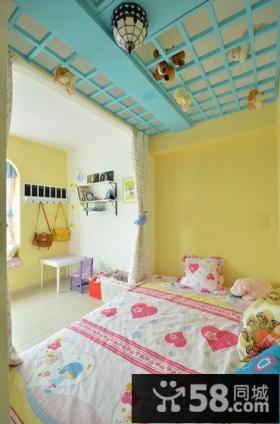 地中海风格儿童房三室两厅装修设计效果图