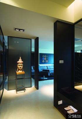 2013客厅玄关装修效果图大全欣赏