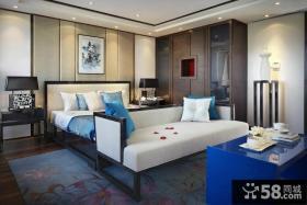 中式风格卧室衣柜设计效果图