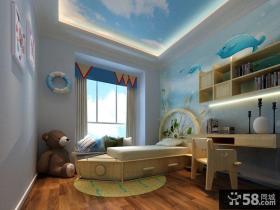 简约地中海风格儿童房装修效果图
