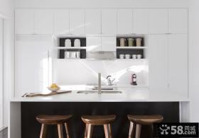 厨房吧台装修图片欣赏