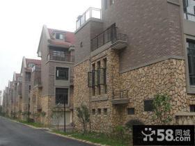 现代风格三层别墅外墙瓷砖效果图
