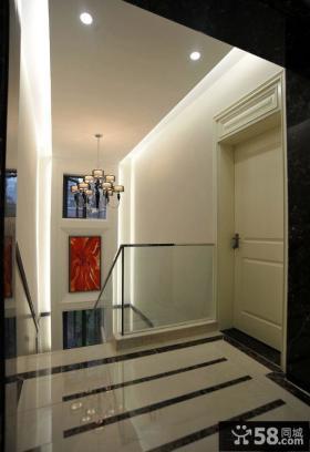 现代风格室内楼梯间装修设计