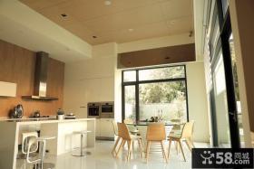 日式家居别墅设计餐厅效果图片