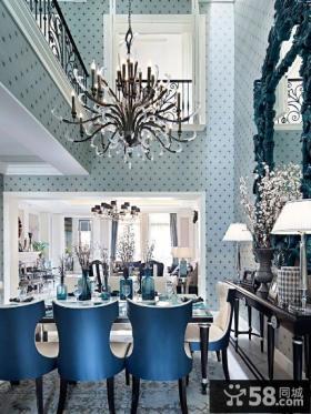 豪华别墅餐厅设计效果图片欣赏大全2014图片